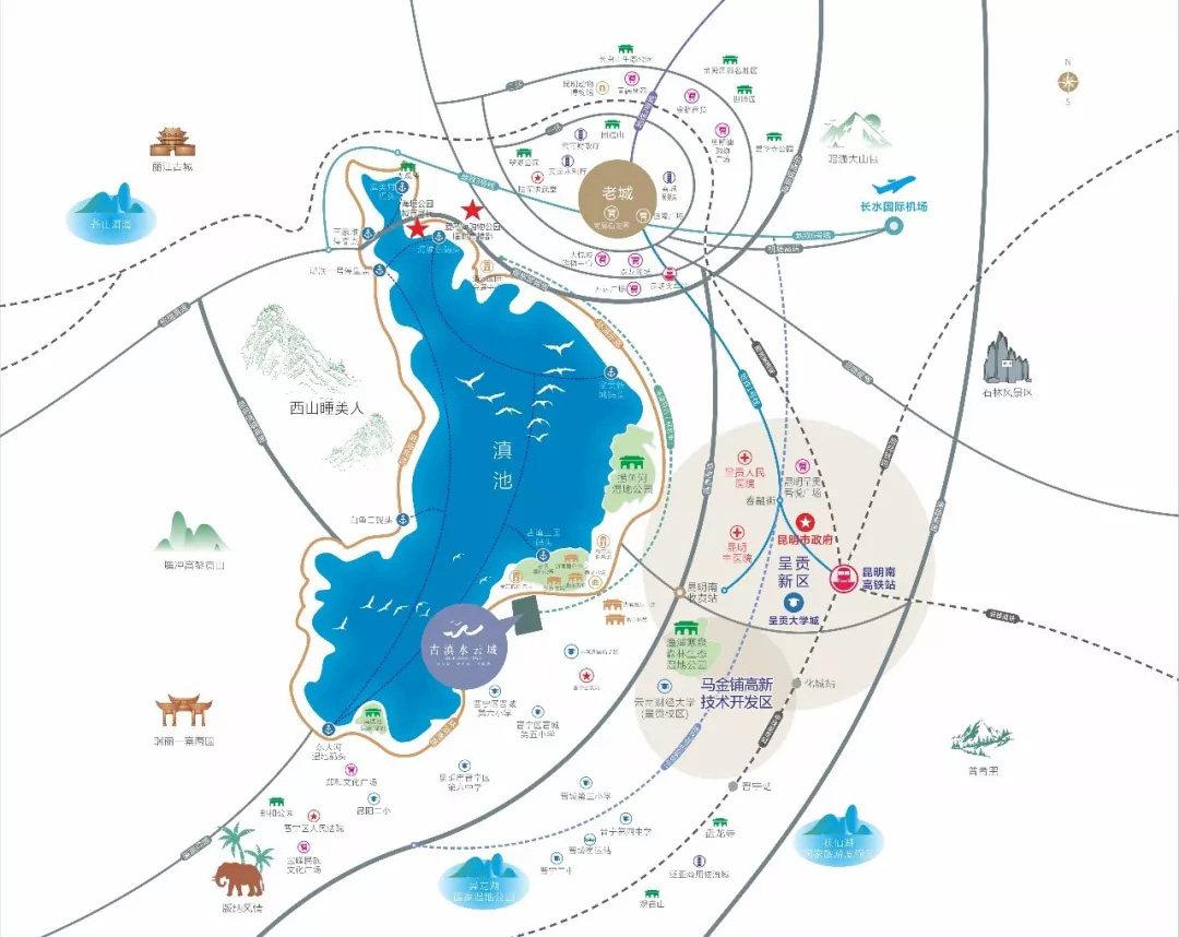 碧桂园水云城区位图