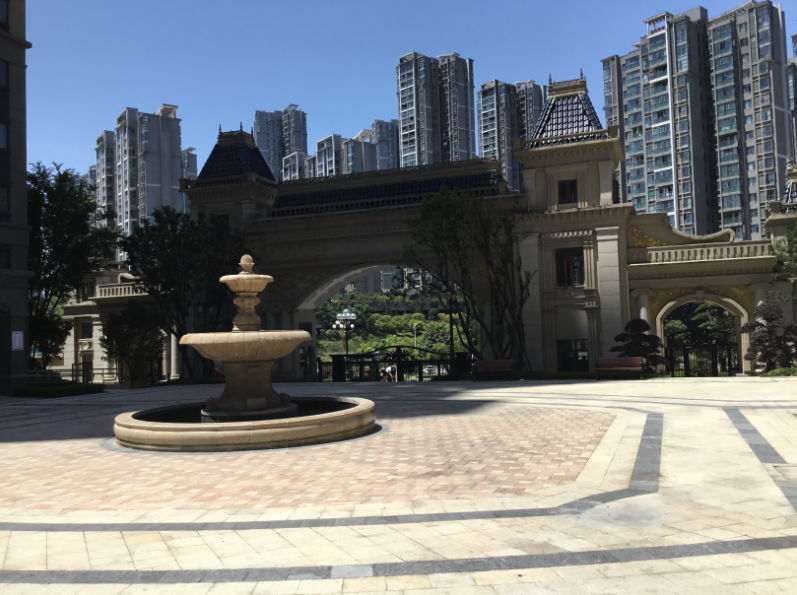 贵阳恒大中央广场实景图